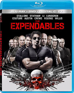 The Expendables-Blu-Ray/Dvd/Digital Copy(3 disc set)Like New!