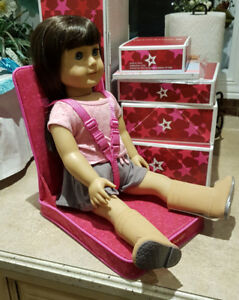 American Girl Doll Car seat for Doll or Bitty Baby