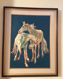 Signed Vintage Oil Painting