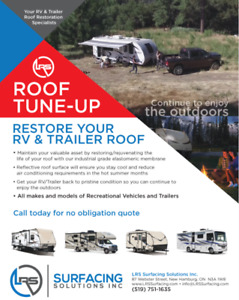 Your RV and trailer resurfacing specialists