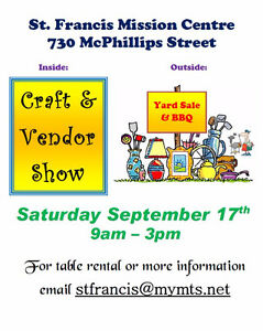 Vendor and Craft sale - looking for participants