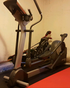 Life fitness cross trainer elliptical x5 total body trainer