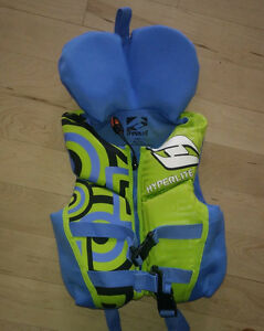 Kids' life vest, pfd, swim vest, 14 - 27kg, very good condition