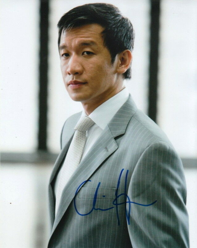 CHIN HAN.. The Dark Knight's Lau - SIGNED