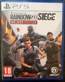 RAINBOW SIX SIEGE PS5 GAME