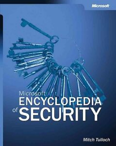 Microsoft Encyclopedia of Security by Mitch Tulloch, Like NEW