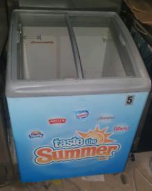 Ice cream display freezer fully working good condition