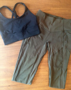 Vêtements d'entrainement Lululemon -- Jamais porté!