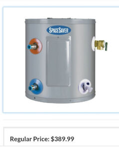 SPACE SAVER GSW 6 GAL WATER HEATER FOR TRAILER, WORK, HOME
