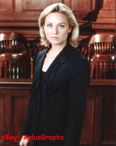ELISABETH ROHM... Law & Order's Serena Southerlyn - SIGNED