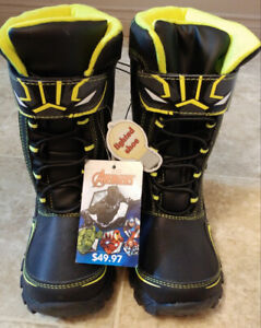 Black Panther Light-up Boots size 13
