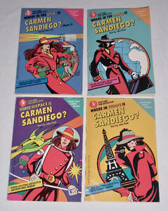 CARMEN SANTIAGO SET OF FOUR