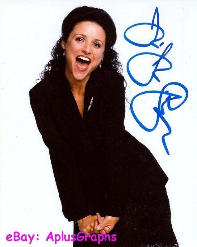 JULIA LOUIS-DREYFUS.. Seinfeld - SIGNED