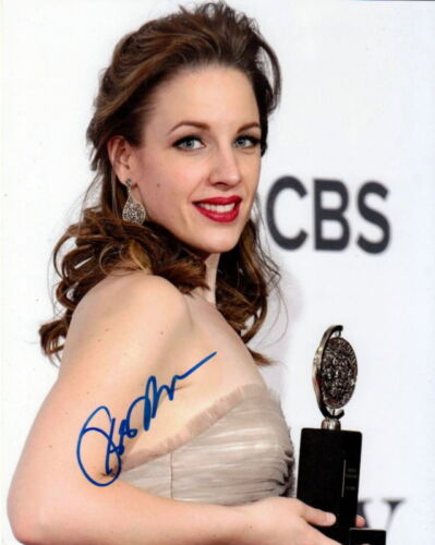 JESSIE MUELLER.. with Her Tony Award (Broadway) SIGNED