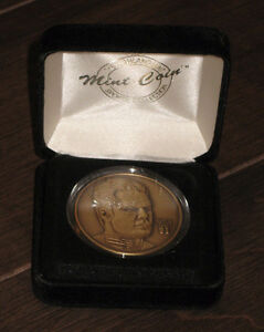 Curtis Joseph Mint Coin Medallion Bronze