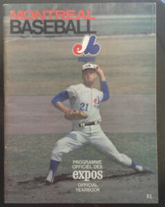 Montreal Expos Official Yearbook 1969 - Vol 1 No.1