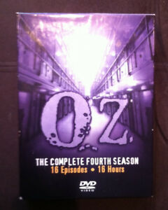 OZ - Complete 4th Season - 18 Episodes on 3 double-sided DVDs