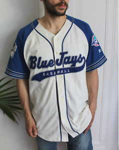 Vintage 90s Blue Jays Majestic Jersey, Well loved, rare