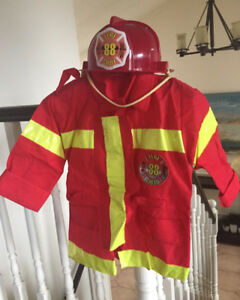 Fire man costume (toddlers 4-5)
