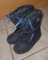 Sorel winter boots, youth size 2, very good condition