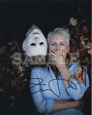 Halloween 5 Jamie (Jamie Lee Curtis signed 5x7 Autograph Photo RP - Free ShipN!)