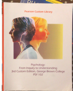 Selling Psychology: From Inquiry to Understanding Textbook