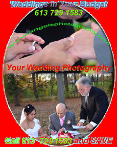 FLOWERS& PHOTOGRAPHY& DJ from $299 at 613 7291583 WEDDINGS+EVENT