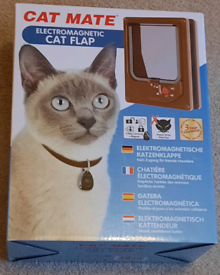 Cat Flap Microchip Activated By Cat Mate