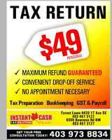 Tax Preparation, Payroll & GST, Business Bookkeeping Services