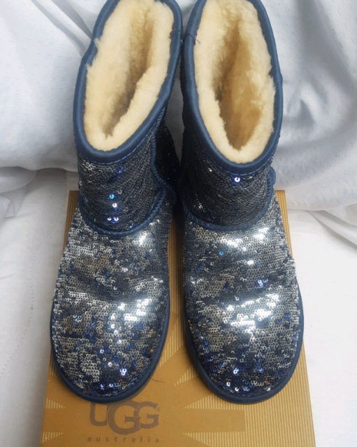 50f9cebb5f1 UGG Australia classic short sequin boots | in Longfield, Kent | Gumtree