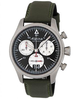 Alpina Startimer Pilot Big Date Chronograph Men's Watch - AL-372BS4S6B