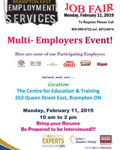 Food Service / Restaurant Job Fair