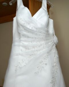 Plus size 20 wedding dress - fits street size 16/18