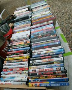 Dvds and wii and x box games