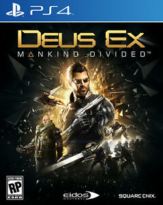 Brand new Sealed Deus Ex: Mankind Divided Ps4