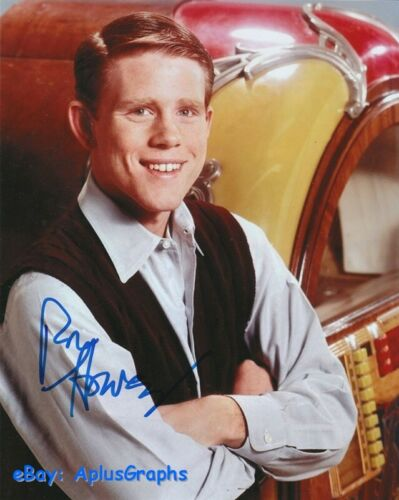 RON HOWARD.. Happy Days' Richie Cunningham - SIGNED