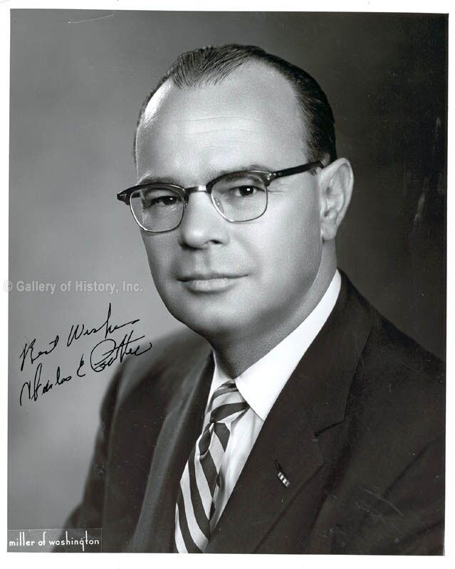 CHARLES E. POTTER - PHOTOGRAPH SIGNED