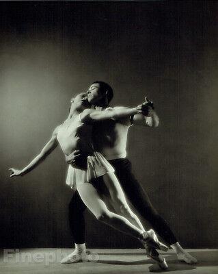 1947 Ballet FRANCISCO MONCION & MARIA TALLCHIEF Big Photo Art GEORGE PLATT LYNES