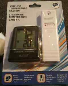 Wireless Temperature Station - Brand New, Never Used