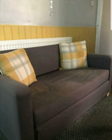 Lovely Little 2 Seater Sofa Settee Bed Good Condition Can Deliver £5 L