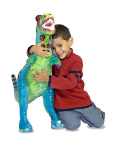 MELISSA AND DOUG NEW WITH TAGS DINOSAUR TREX TOY