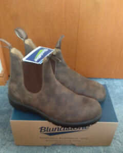 Brand New In Box Men's Blundstone Boots Rustic Brown Size 11 UK