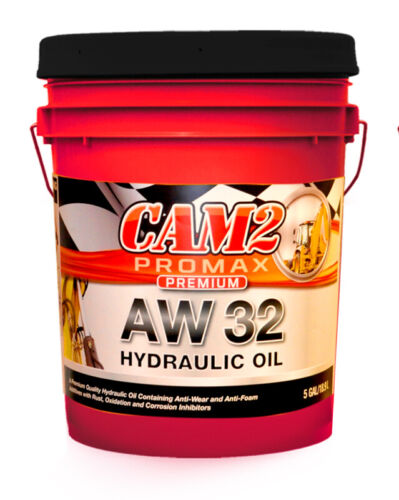 AW 32 Hydraulic Oil Fluid (ISO VG 32, SAE 10W) - 5 Gallon Pail