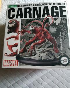 Kotobukiya 1/10 scale Marvel Carnage Statue.