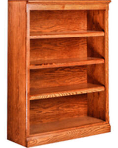 Solid oak book cases