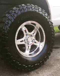 Trade for 20x12 or 20x14 rims and tires