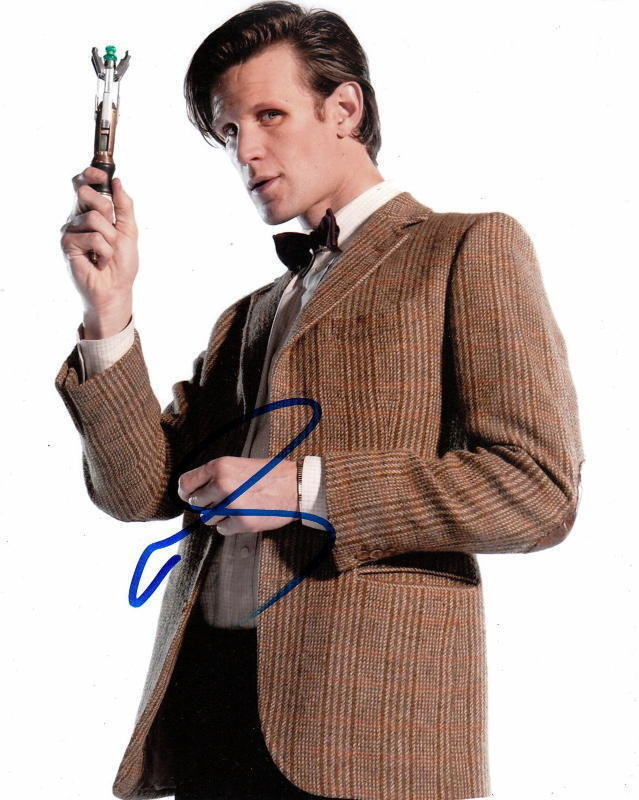 MATT SMITH.. Doctor Who -  SIGNED