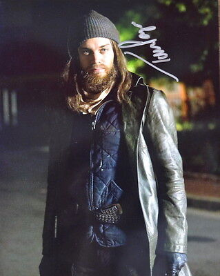 Used, Autographed THE WALKING DEAD Tom Payne 8 x10 PHOTO Jesus TWD  for sale  Shipping to Canada