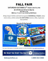 FALL FAIR BENEFITING THE KIDNEY FOUNDATION OF CANADA