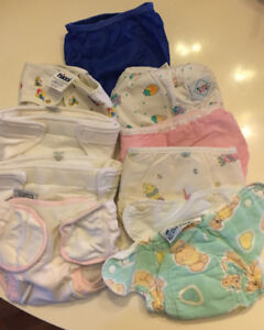 Cloth All In One Diapers Small (plus diaper and swim)